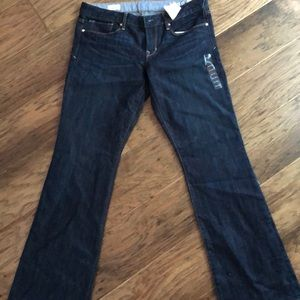 Brand new with tags dark denim gap jeans!